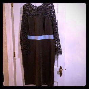 NWT Eloquii Studio Olive green dress sz 20